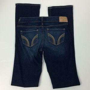 Hollister New Ladies Dark Bootcut Jeans Sz 5L